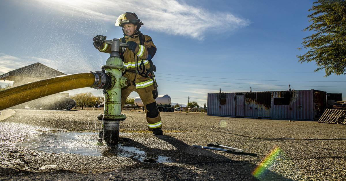 """""""I believe this latest study will help women, especially younger women just beginning their careers, to know that they will be safer than ever before,"""" said Lily Pesqueira, a captain and 20-year veteran of the Tucson Fire Department."""