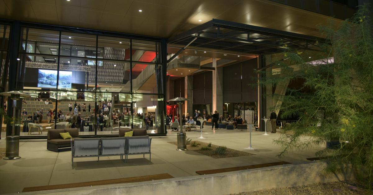 The University of Arizona Health Sciences celebrated the grand opening of the Health Sciences Innovation Building Nov. 1, 2019.