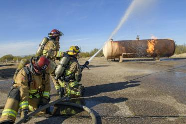 """We know very little about the health of female firefighters because they are a minority in the fire service,"" Dr. Farland said. Her research will focus on the reproductive health of the female firefighters in the study."