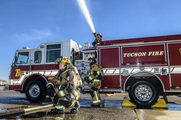 Female firefighters will be recruited for the study from departments across the United States, including the Tucson Fire Department.