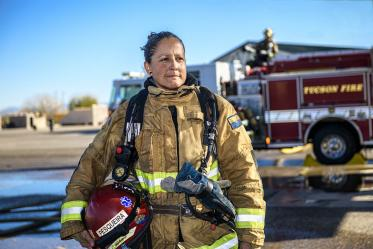 """The knowledge that has come forward [in previous studies] has made a huge impact on the fire service as a whole,"" Pesquiera said."