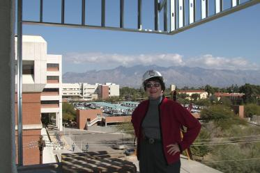 G. Marie Swanson, PhD, MPH, is appointed the first permanent dean of the college in 2001.
