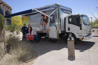 The Primary Prevention Mobile Health Unit launches in Maricopa and Pima counties in 2017.