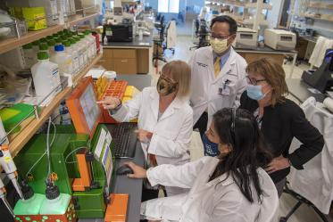 The ICS paired-mentor teams work with scholars to maximize the impact and significance of cancer research.