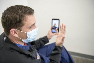 Giving rural EMS responders real-time access to emergency department doctors such as Dr. Gaither may result in better patient triaging, advanced onsite care and referrals to facilities that could best meet the patient's needs.