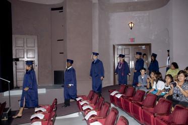 2009 Mel and Enid Zuckerman College of Public Health convocation.