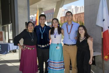 The blessing was coordinated by the Association of Native American Medical Students.