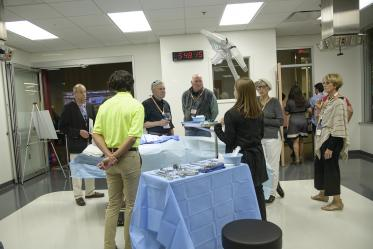 Surgery can be simulated on lifelike manikins in the Arizona Simulation Technology and Education Center, or ASTEC.