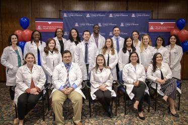 The Primary Care Physician scholarship recipients from the University of Arizona College of Medicine – Tucson.
