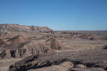 The Navajo Nation's vast landscape includes canyonlands.