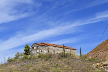 The Copper Queen Community Hospital has been situated in several different locations before coming to its current home on Cole Avenue, including its hilltop perch in this large building. According to Glenda Trevino, RN, nursing education director, the building was later used for housing, but is now up for sale.