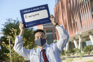 Second-year College of Medicine – Tucson student Paul Nguyen is one of 32 students from the Colleges of Medicine in Tucson and Phoenix to be awarded a Primary Care Physician Scholarship in 2020.