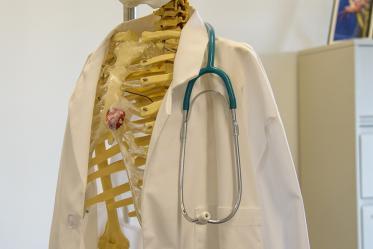 Medical students have a sense of humor.
