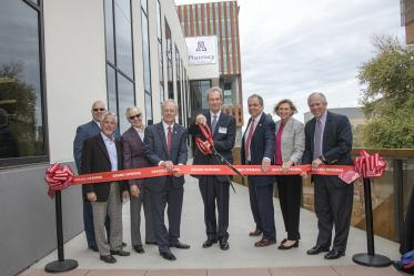 On Feb. 21, the University of Arizona College of Pharmacy opened its renovated and expanded Skaggs Center, which features new laboratory space and more.
