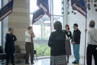 A Banner employee speaks about the importance of kindness in patient care.