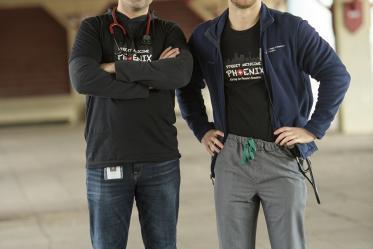 Jeffery Hanna and Justin Zeien co-founded Street Medicine Phoenix in 2017.