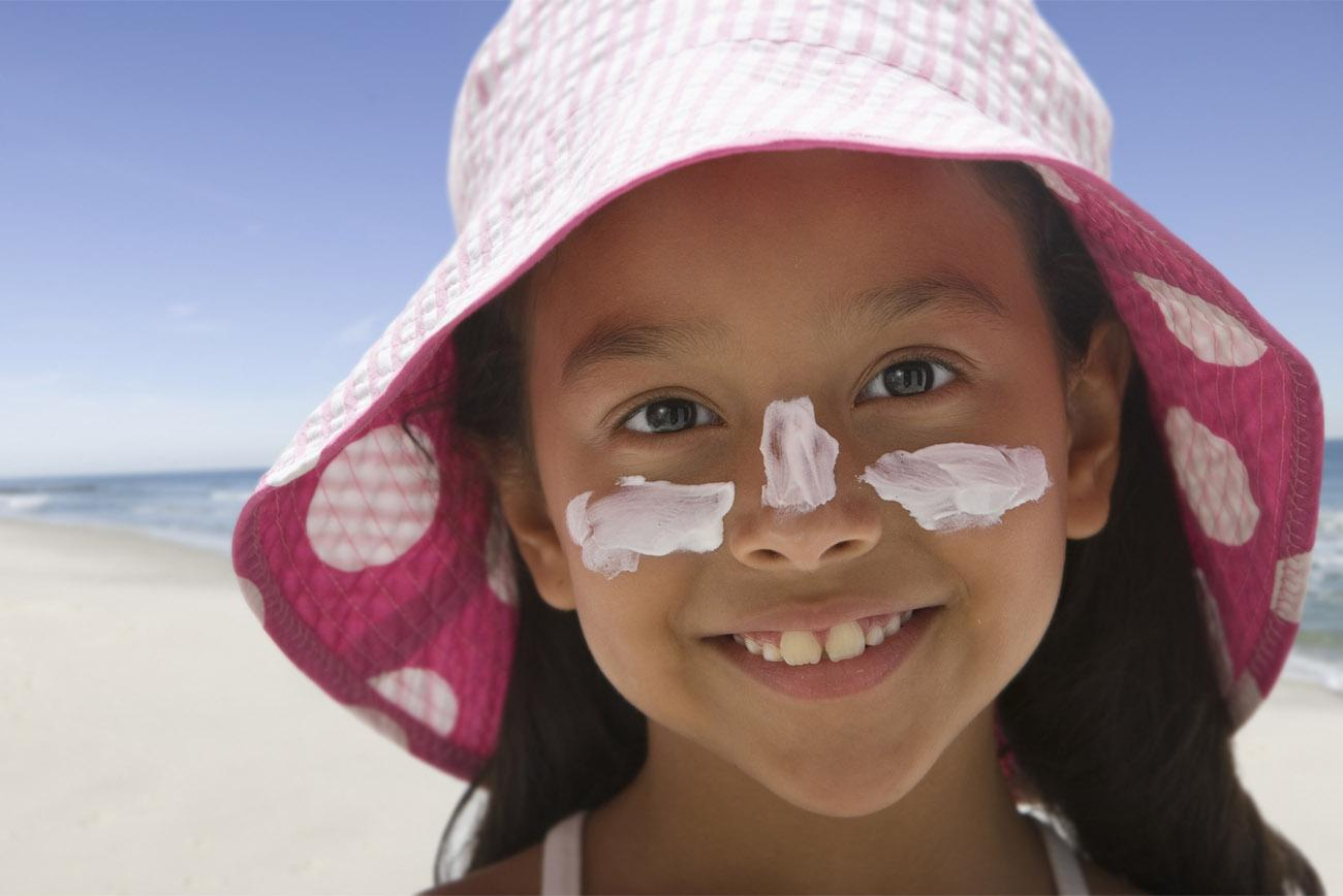 Anyone with skin is at risk for skin cancer. Tools like sunscreen and hats go a long way to protect the skin.