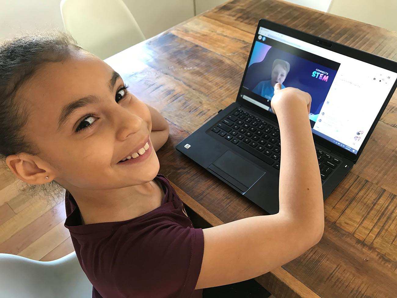 New this year, Connect2STEM features weekly interactive activities and lessons through Connect2STEM Live TV.