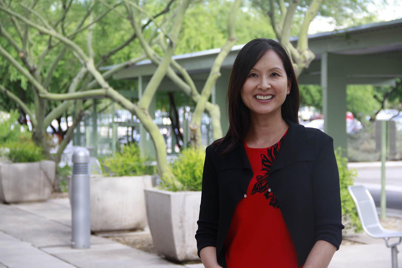 Jeannie Lee, PharmD, BCPS, BCGP, FASHP, is an associate professor of pharmacy practice and science at the College of Pharmacy. (Photo: College of Pharmacy)