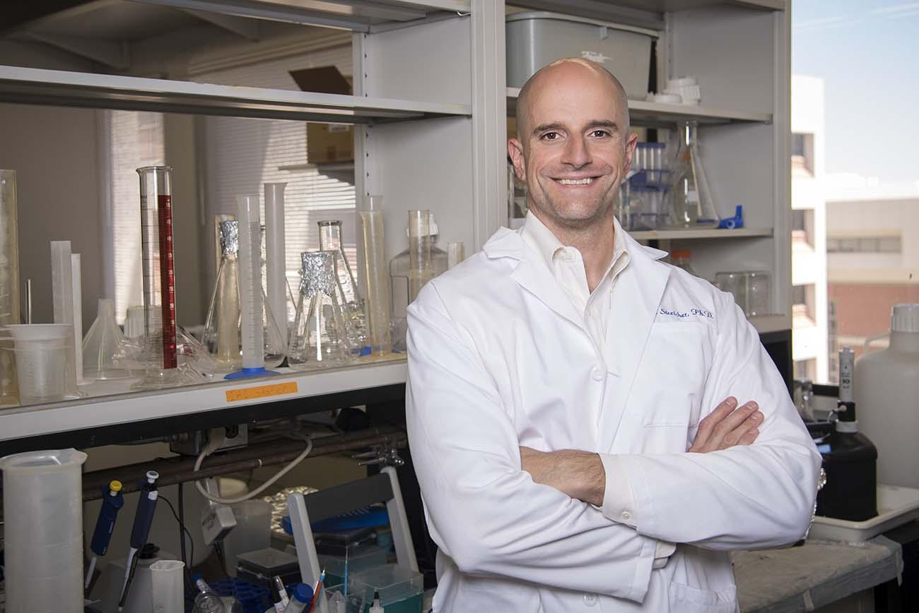 """John Streicher, PhD, a member of the Comprehensive Pain and Addiction Center, said the findings answered some basic science questions that allowed him to advance the research moving forward. """"Now, we're getting into the therapeutic questions – what's a good drug to give to a person to help them control their pain?"""""""