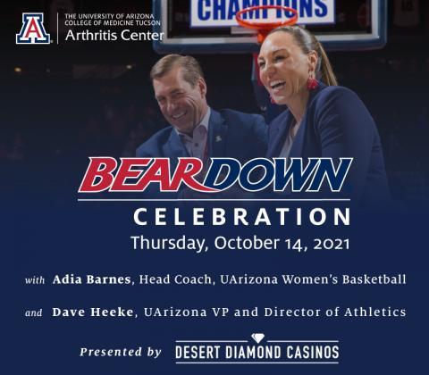 Bear Down Celebration poster
