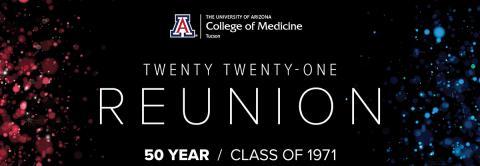 College of Medicine – Tucson reunion logo