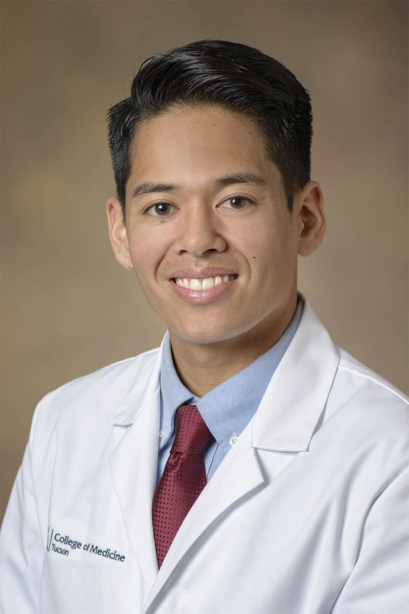 Andrew Alix, fourth-year medical student, University of Arizona College of Medicine – Tucson. Photo: University of Arizona Health Sciences)