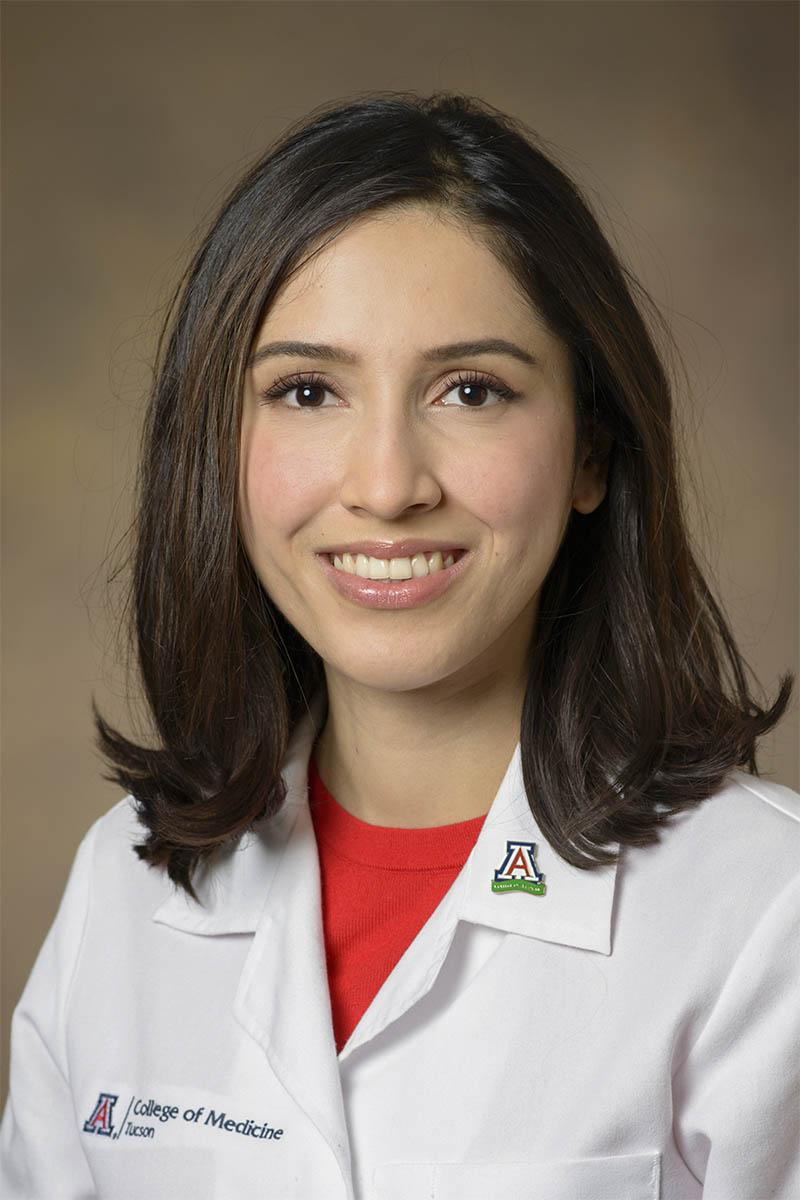 Karen Beltran, fourth-year medical student, University of Arizona College of Medicine – Tucson. (Photo: University of Arizona Health Sciences)