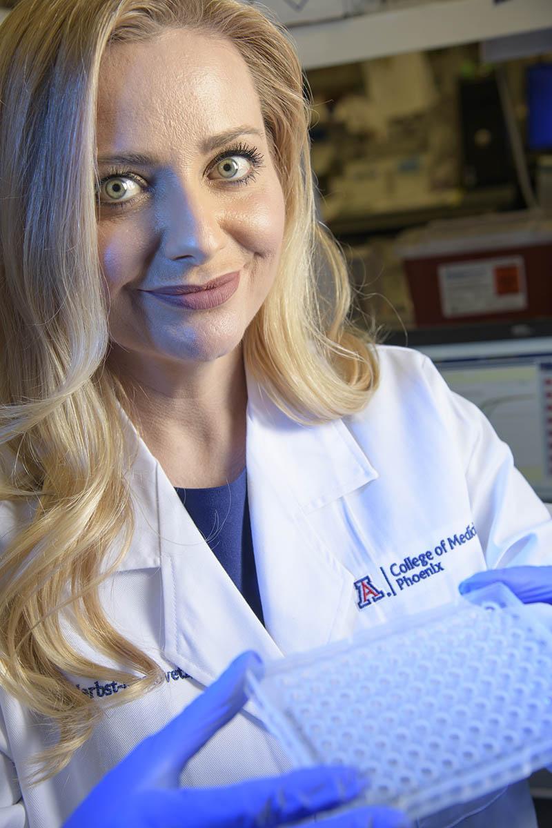 Melissa Herbst-Kralovetz, PhD, focuses her research on infections that impact women's health.