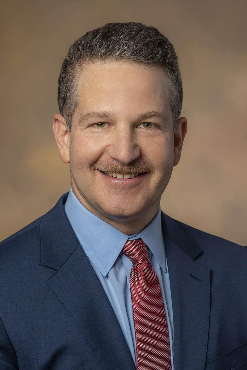 Jordan F. Karp, MD, is professor and chair of the College of Medicine – Tucson's Department of Psychiatry.
