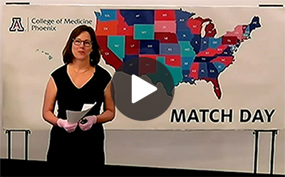 Watch the College of Medicine — Phoenix's virtual Match Day celebration.
